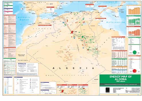 Energy >> energy map of Algeria   voir le site de sonatrach   Flickr