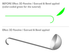Tutorial: 3D Effect Extrude and Revolve | by cgt123w07