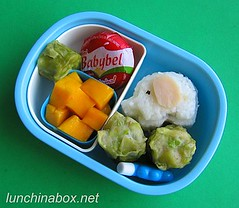 Elephant onigiri bento lunch for preschooler | by Biggie*