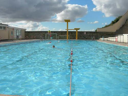 Portishead open air pool water side photo kindly sent - Open air swimming pool portishead ...