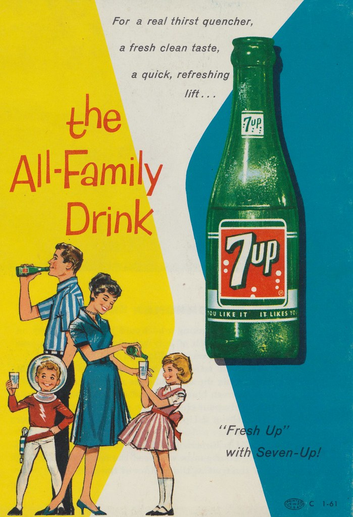 7-Up: the All-Family Drink This from the back of the Do Yo? Flickr