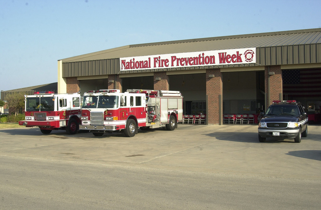 Goodfellow Afb Tx Fire Dept During Fire Prevention We