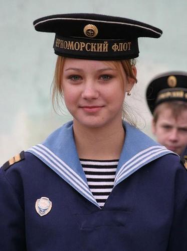DMP-F47 FEMALE RUSSIAN SAILOR | Russian sailor. I don´t know ...