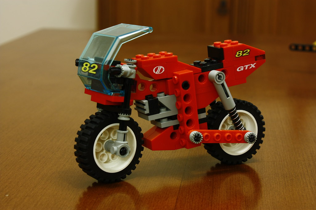 Lego Technic 8210 Nitro Bike Gtx Ysfylmz Flickr