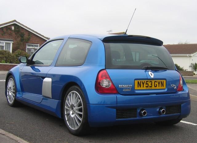 2004 Renault Clio Renaultsport V6 255 Iliad Blue  Supplied   Flickr