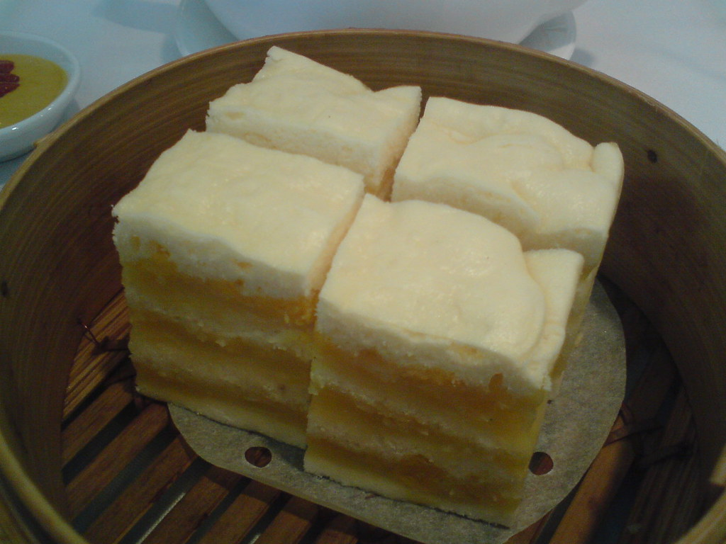 how to make chinese steamed egg cake