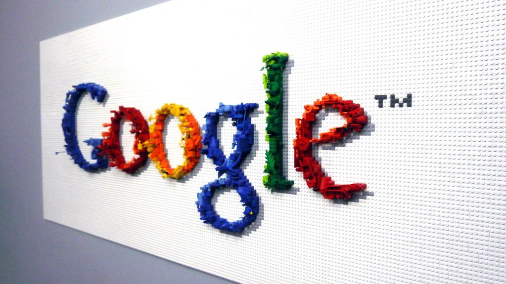 Lego Google logo, Google, NYC, NY.JPG   Cory Doctorow   Flickr