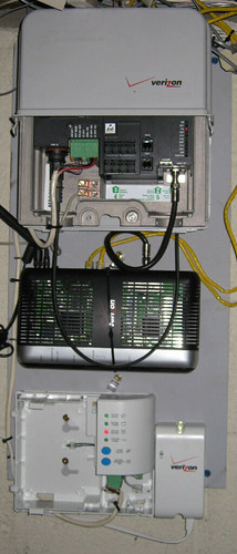 Verizon Fios Black Box This Is The Box In My Basement A
