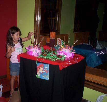 Fiesta tematica de sirenita imagui - Fiesta infantil tematica ...