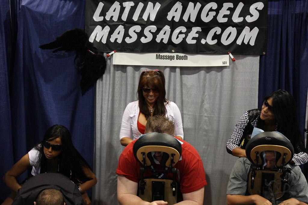 Latin Angel Massage | what a great set to get a massage ...