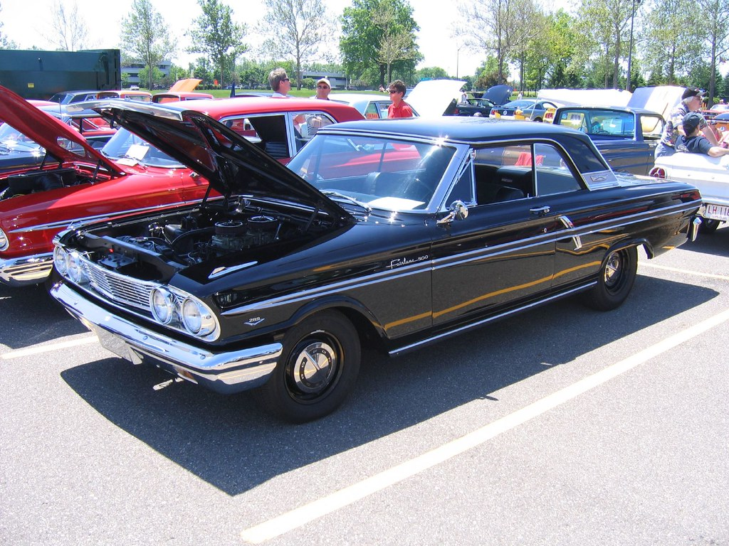 1964 Fairlane Sport Coupe 289 High Performance Bill Cook