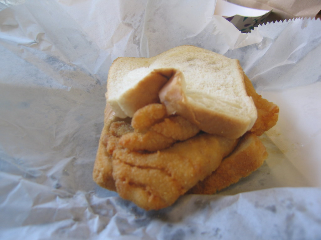 Coleman fish market fried fish sandwich which was for Coleman s fish