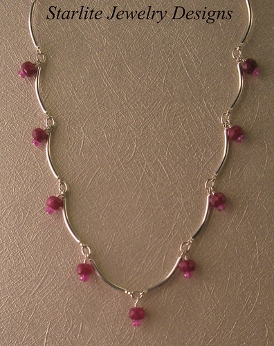 Starlite jewelry designs ruby necklace jewelry design for San francisco handmade jewelry
