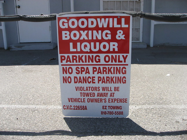 Parking Lot Boxing Ring