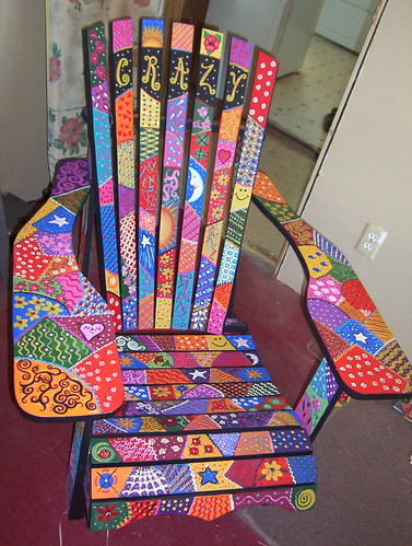 Decorative Painting Adirondeck Chairs