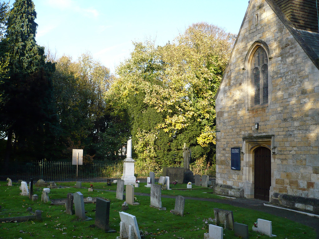St. Helens Churchyard, Boultham Park, Lincoln | The church ...