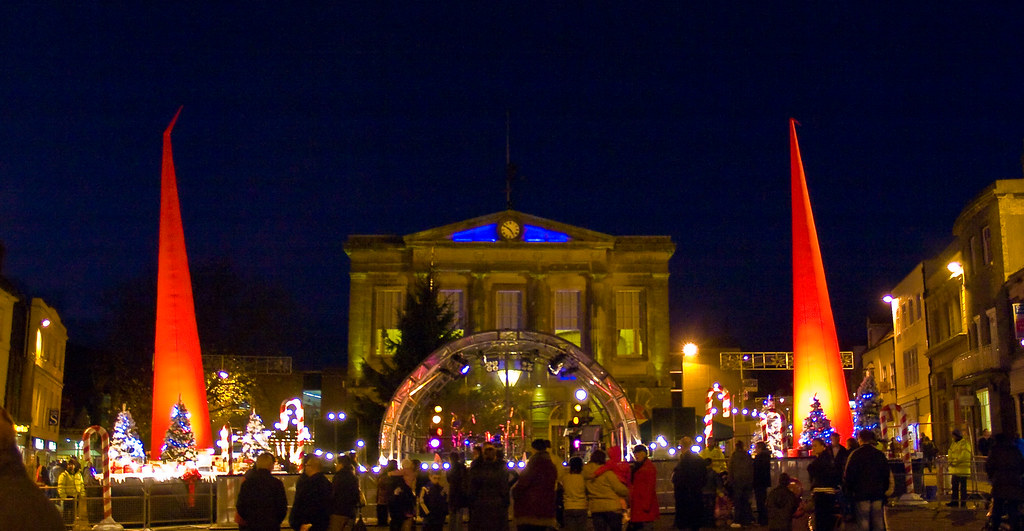 New Hampshire >> Christmas Lights in Andover, Hampshire | Entertainment befor… | Flickr