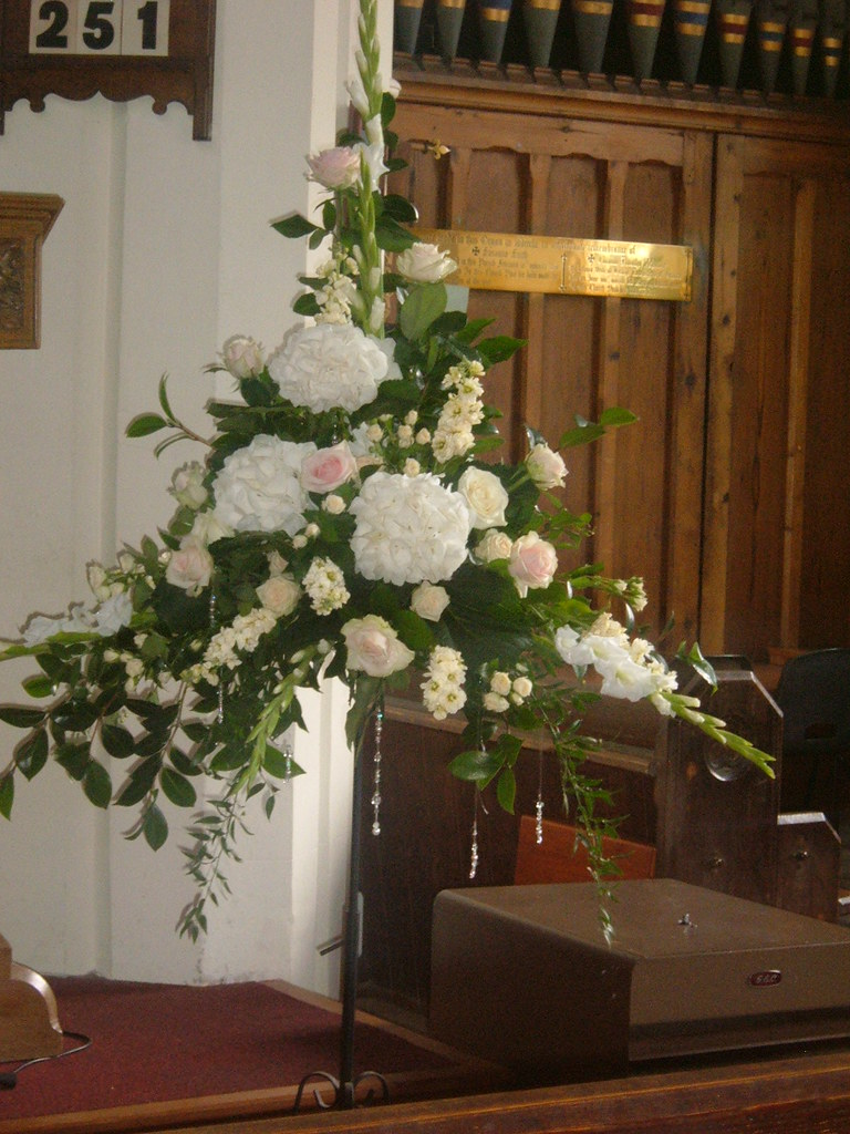 church wedding flower arrangements wedding church flower arrangement elaine blainey flickr 2947