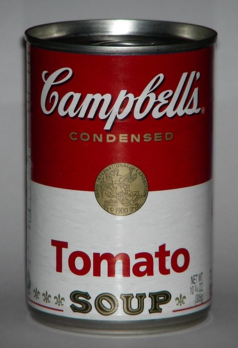 campbell 39 s tomato soup can flickr photo sharing. Black Bedroom Furniture Sets. Home Design Ideas