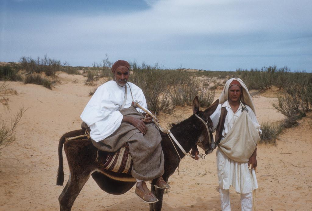 Libya >> NOMADS WEST OF EL AZIZIA, LIBYA 1957 | Thomas Smith | Flickr
