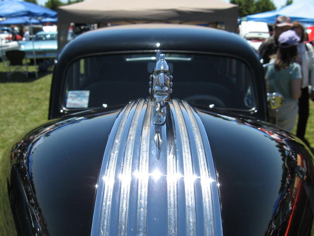 1939 Pontiac Silver Streak Hood Ornament Peggy Sue S All