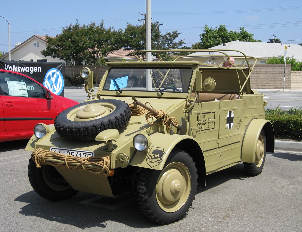 Ww2 Kubelwagen 1943 Vw Thing Gathering Garden Grove