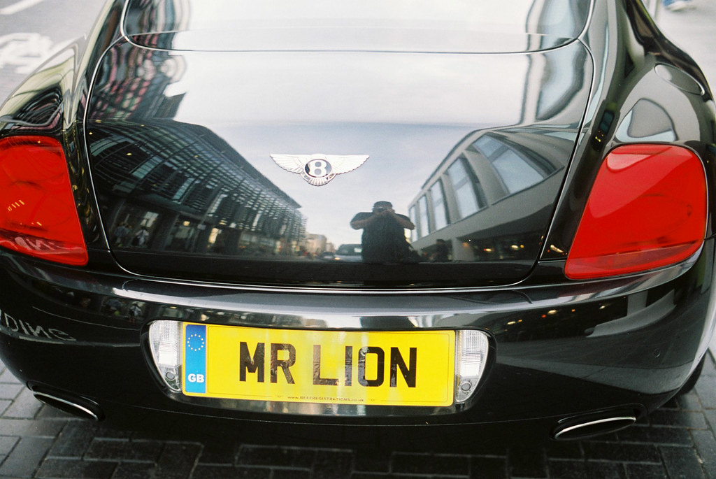 mr lion | spotted in brighton one night. actually this car ...