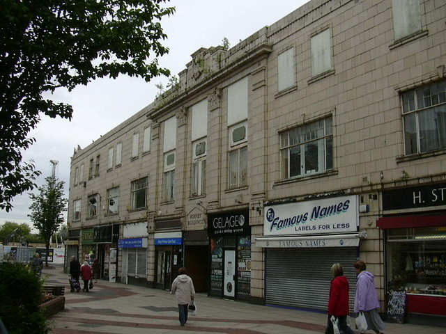 Hornby Buildings The Rock Bury Lancashire Now