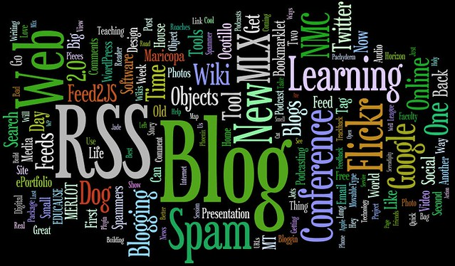 CogDogBlog Wordle - Wordle is a way cool visualization ...