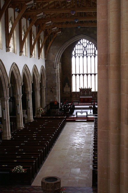Where I work - St James, Louth, Lincolnshire