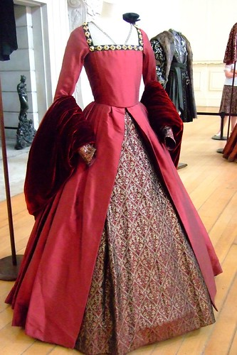 Tudor Style Costumes from the film The Other Boleyn Girl displayed at Hampton Court Palace | by mharrsch