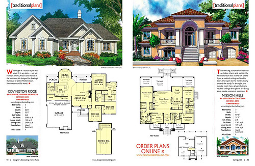 Designer 39 s best selling home plans magazine editorial for Top rated house plans