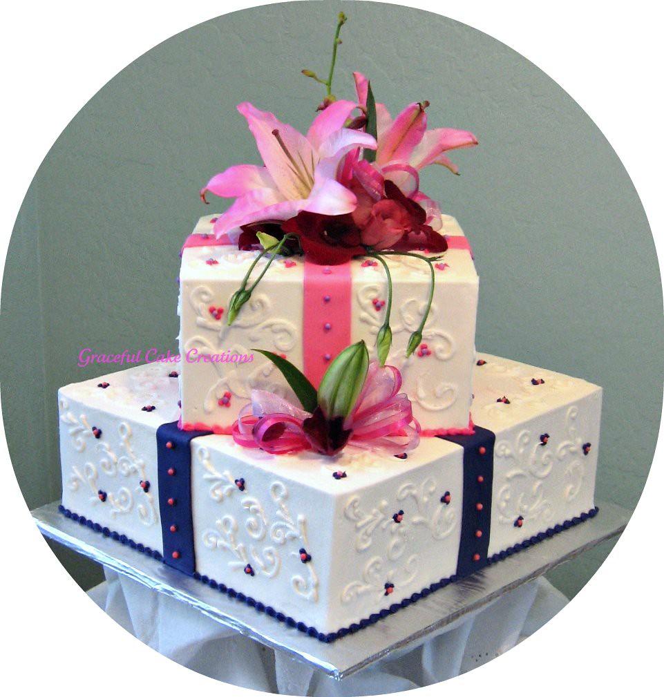 wedding flowers in a box peonies