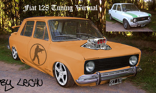 Fiat 128 Tuning Virtual Mariano Quinteros Flickr