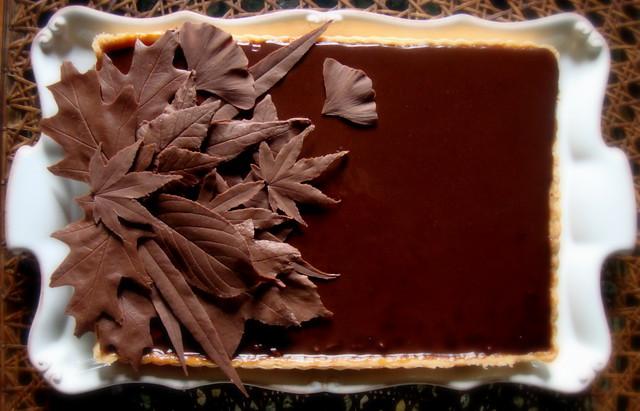 Chocolate Caramel Nut Bundt Cake