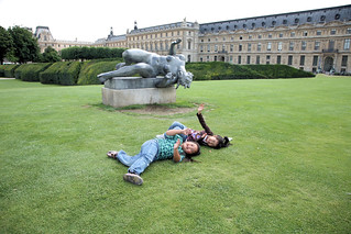 Life imitates art - Paris, France | by Donna & Andrew