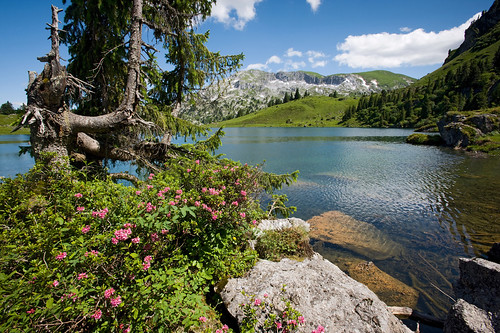 Lake Seeberg, high above the Grimmialp | by MySwitzerland.com