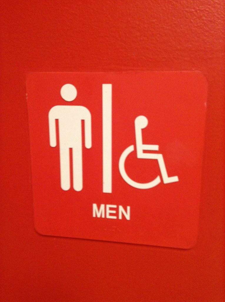 Target Target Restroom Mens Room Handicapped Bathroom