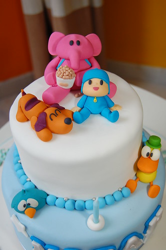 Material Para Cake Design Lisboa : Pocoyo theme birthday cake Flickr - Photo Sharing!