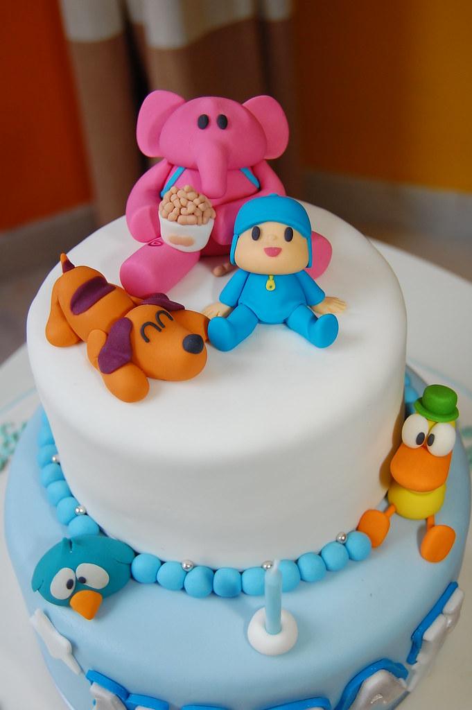 Pocoyo Themed Cakes
