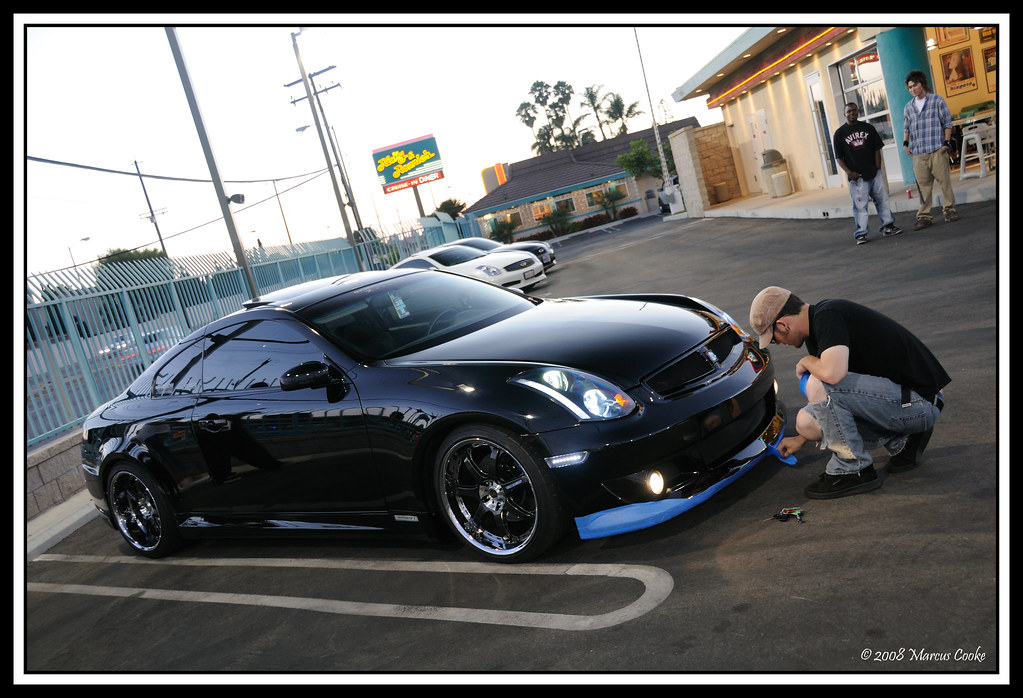 G35 Coupe With Kenstyle Kit Infiniti Ricky And Ronnie S