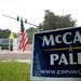 McCain sign on US Election Day 2008