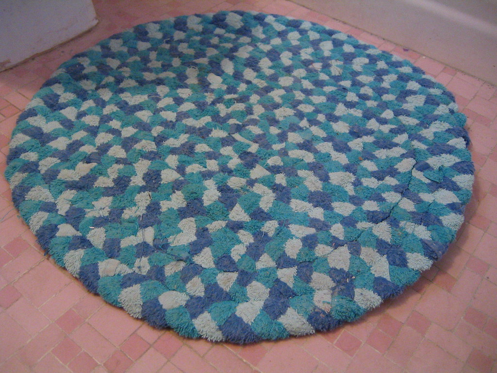 Braided Rug Made From Old Towels I Was Inspired To Make