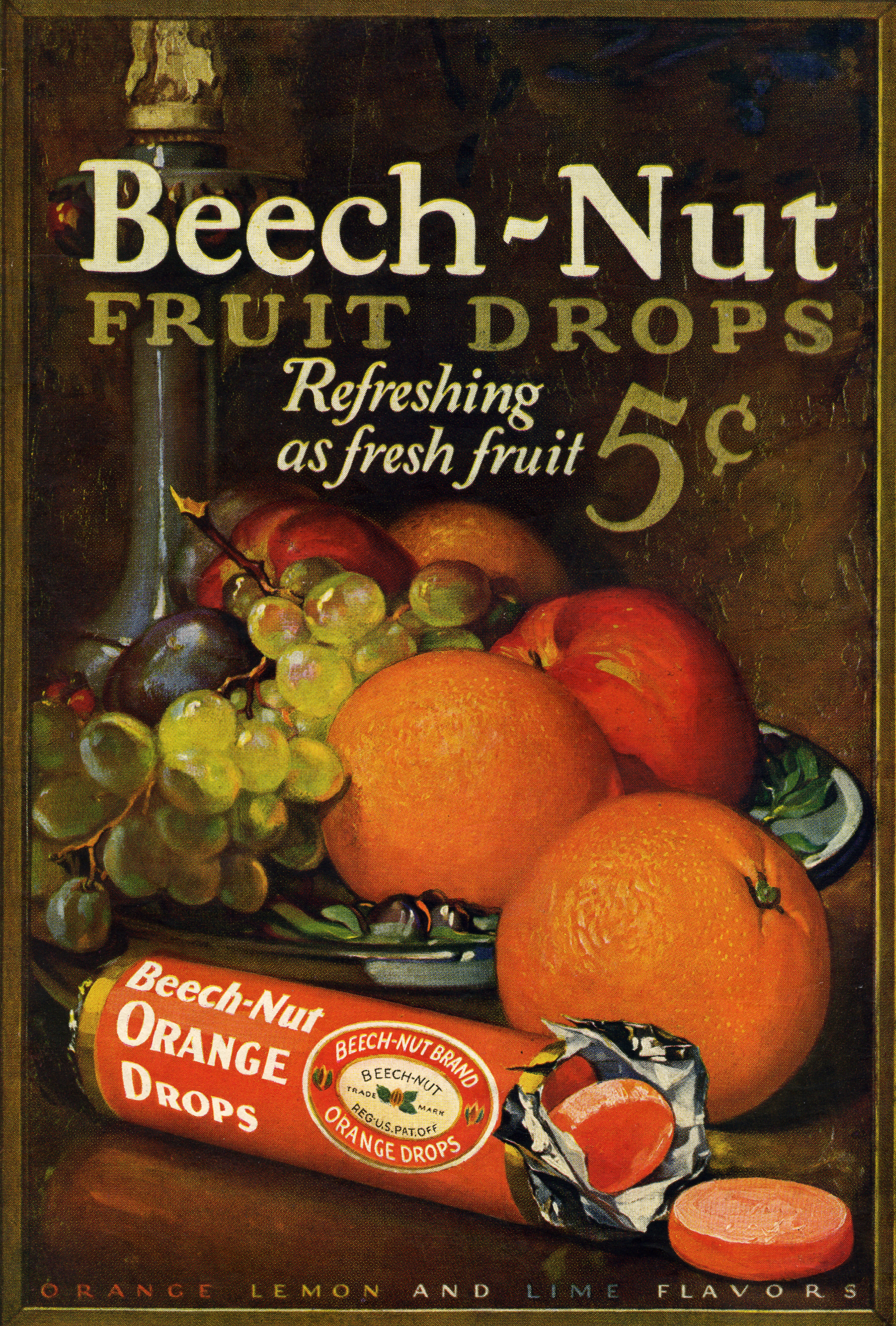 Beech-Nut Fruit Drops - 1931