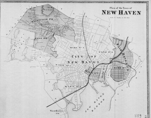 Plan of the Town of New Haven. (Petersen Collection) | by uconnlibrariesmagic