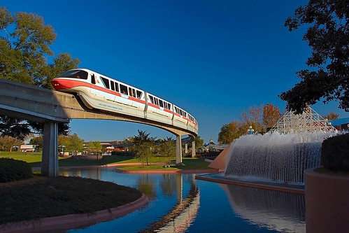 Disney - Monorail Coral Future World (Explored) | by Express Monorail