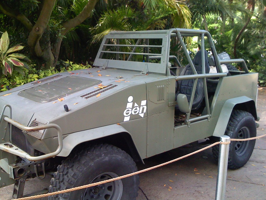 Cars Used In The Lost World Jurassic Park