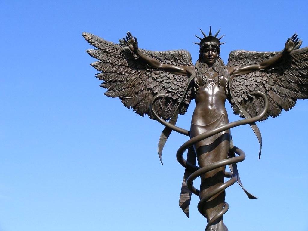 James Muir, Caduceus - Panorama | Project Caduceus bronze ...