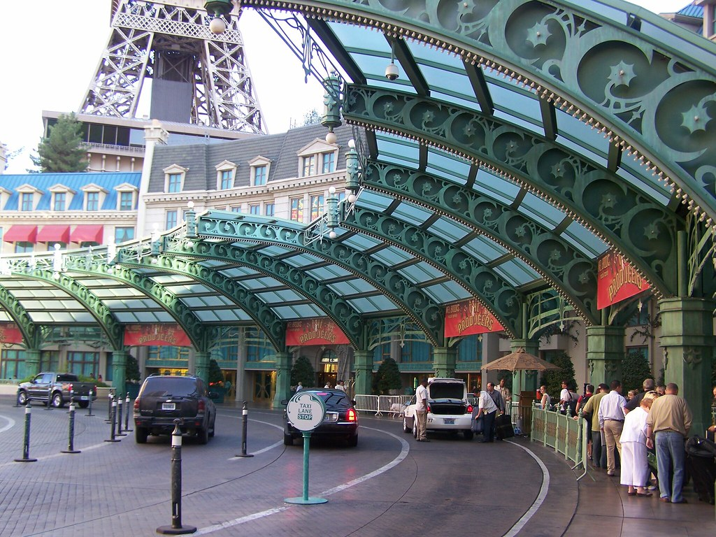 Parking In Paris >> Valet Parking Entrance; Paris-Las Vegas | The excitement you… | Flickr