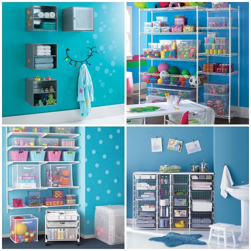 Kids bathroom storage from the container store flickr for Children s bathroom designs